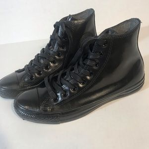 Converse Shoes - CONVERSE All STAR Patent Leather High Top Sneaker